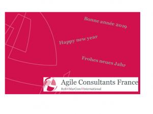 Agile Consultants France et ses partenaires vous présentent tous leurs meilleurs vœux